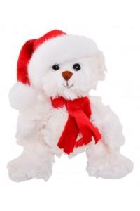 Ours de Noël Baby Tomtenisse blanc