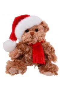 Ours de Noël Baby Tomtenisse caramel