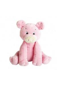Cochon en peluche rose