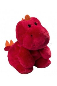 Dragon en peluche rouge