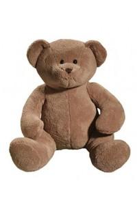 Gros ours en peluche beige