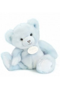 Ours en peluche Bleu glacier collection