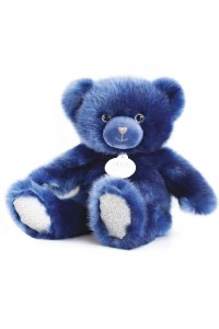 Ours en peluche bleu nuit collection