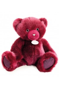 Ours en peluche bois de rose collection