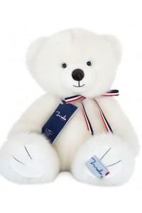 Ours Français Blanc poudré 35 cm