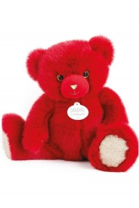 Ours en peluche rouge baiser collection